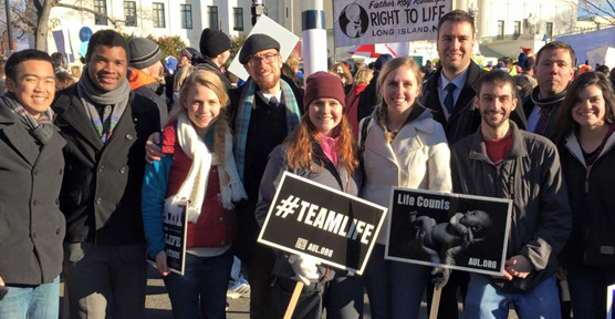 Liberty Law Students lead March for Life