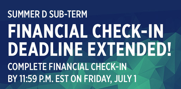 Summer D-Term FCI Extension