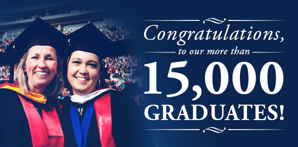 Congratulations to Liberty University's graduates