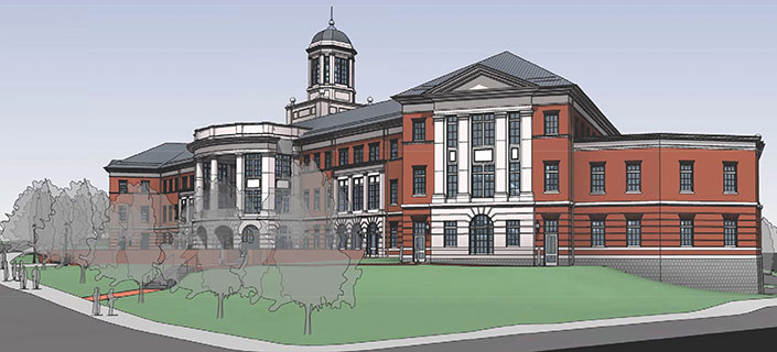 School of Business Rendering