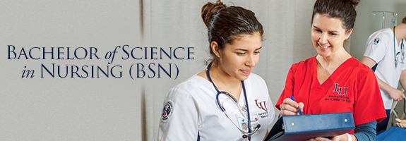 Bachelor of Science in Nursing degree program