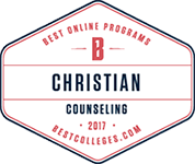 best online colleges christian counseling seal