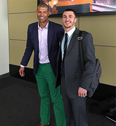 Kevin Clark and Shane Battier