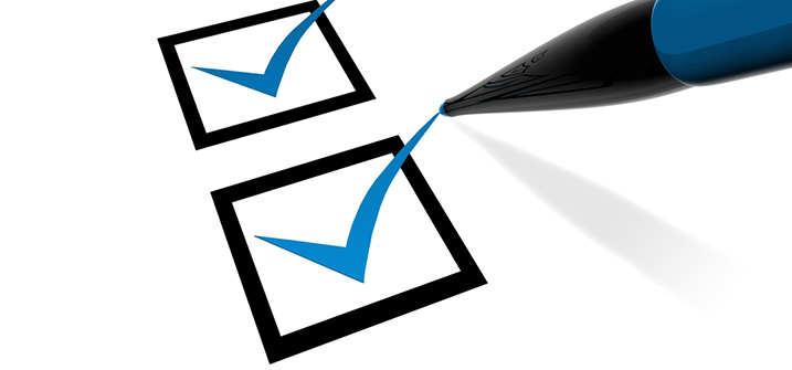 Admissions Checklist
