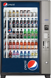 Pepsi Vending Machine Image