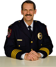 Chief Of Police Col. Richard Hinkley