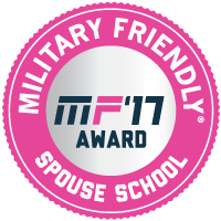 Military Friendly Spouse School - MF'17 Award