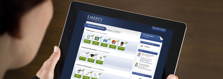 Liberty University employees developed the new Financial Check-in App