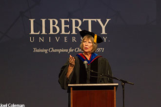 Liberty Department of Nursing chair Dr. Deanna Britt.