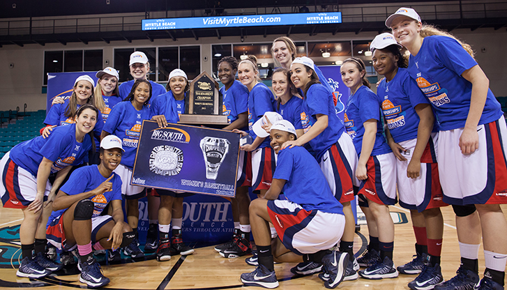Men's, women's basketball teams win Big South titles, earn ...