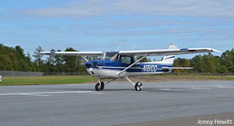 Liberty University's new Cessna 150 aircraft.