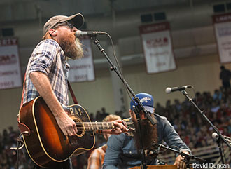 Crowder performs at Liberty University Convocation.
