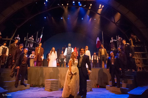 Liberty University presents 'Les Miserables'.