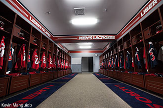 Liberty Lacrosse Fields Clubhouse Locker Room Interior
