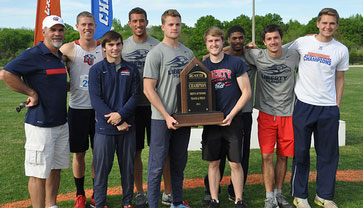 Men's track & field Big South Conference Championships