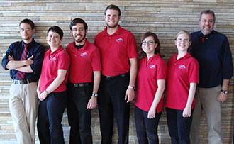 Liberty University Quiz Bowl team competed at its first national event in Chicago.