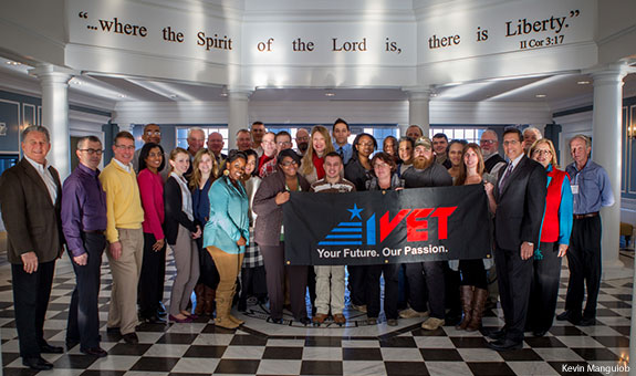 Participants in the IVET training course at Liberty University Jan. 6-10, 2014.