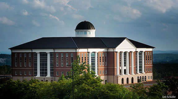 Liberty University's Center for Medical and Health Sciences.