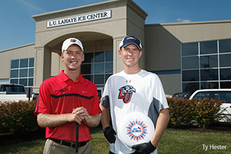 Jacob and Jonathan Mast, former golf and ultimate frisbee players.