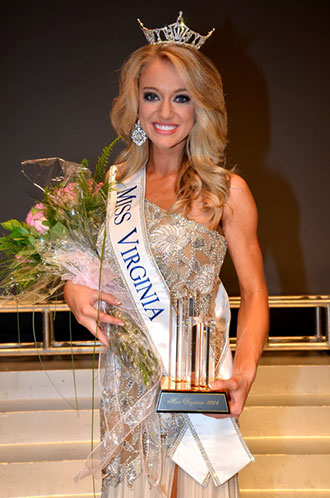 Courtney Garrett, Miss Virginia 2014