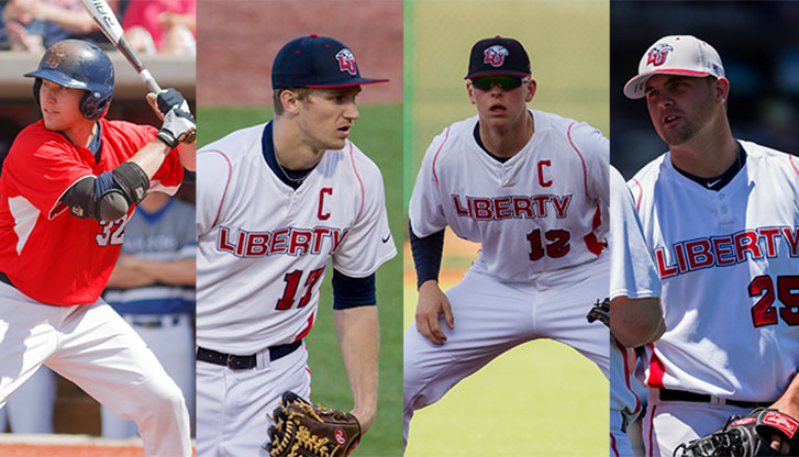 2014 Liberty Flames MLB draftees