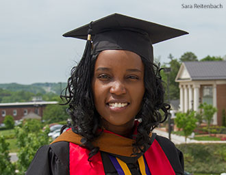 2014 Liberty University graduate Maureen Mutisya
