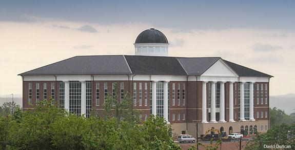 Liberty University's new Center for Medical and Health Sciences