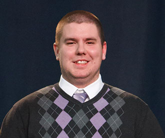 Samuel Morrison, Liberty University's 2014 CSER Volunteer of the Year Award recipient
