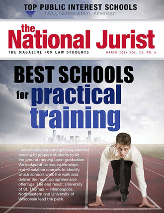 Liberty University School of Law featured in The National Jurist magazine.
