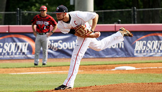 Liberty senior Trey Lambert was named Big South Conference Pitcher of the Year.