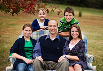 The family of Will Roach II, in a portrait taken for his campaign to run for judge.