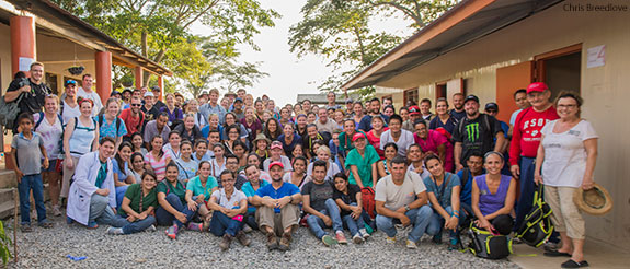 A team of 56 students, faculty, and staff from the Liberty University College of Osteopathic Medicine are serving in Guatemala this week on the college's first service trip abroad.