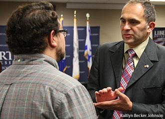 Israeli diplomats visit the Liberty University.