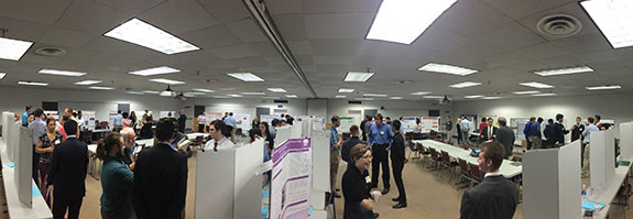 Poster presentations at the VAS.