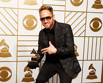 Liberty University alumnus TobyMac ('88) won the Grammy for Best Contemporary Christian Album for his latest work,