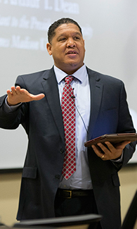 Pastor Arthur Dean, Special Assistant to the President for Diversity at JMU