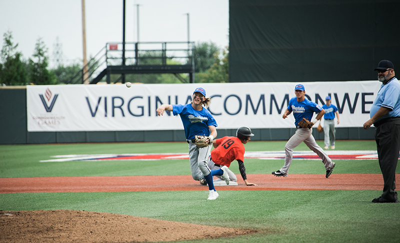 Liberty Baseball Stadium hosted the Virginia Regional All-Star Tournament last weekend as part of the Commonwealth Games. (Photo by Kevin Manguiob)