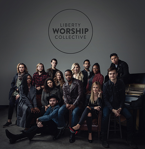 The Liberty Worship Collective released its first album this spring. (Click the image to preview or purchase on iTunes.)