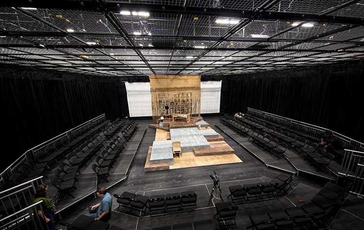 Liberty's new Box Theater (click to expand). (Photo by Kevin Manguiob)