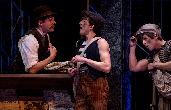 'Newsies' is based on the real-life New York City newsboys' strike of 1899. (Photo by Leah Seavers)
