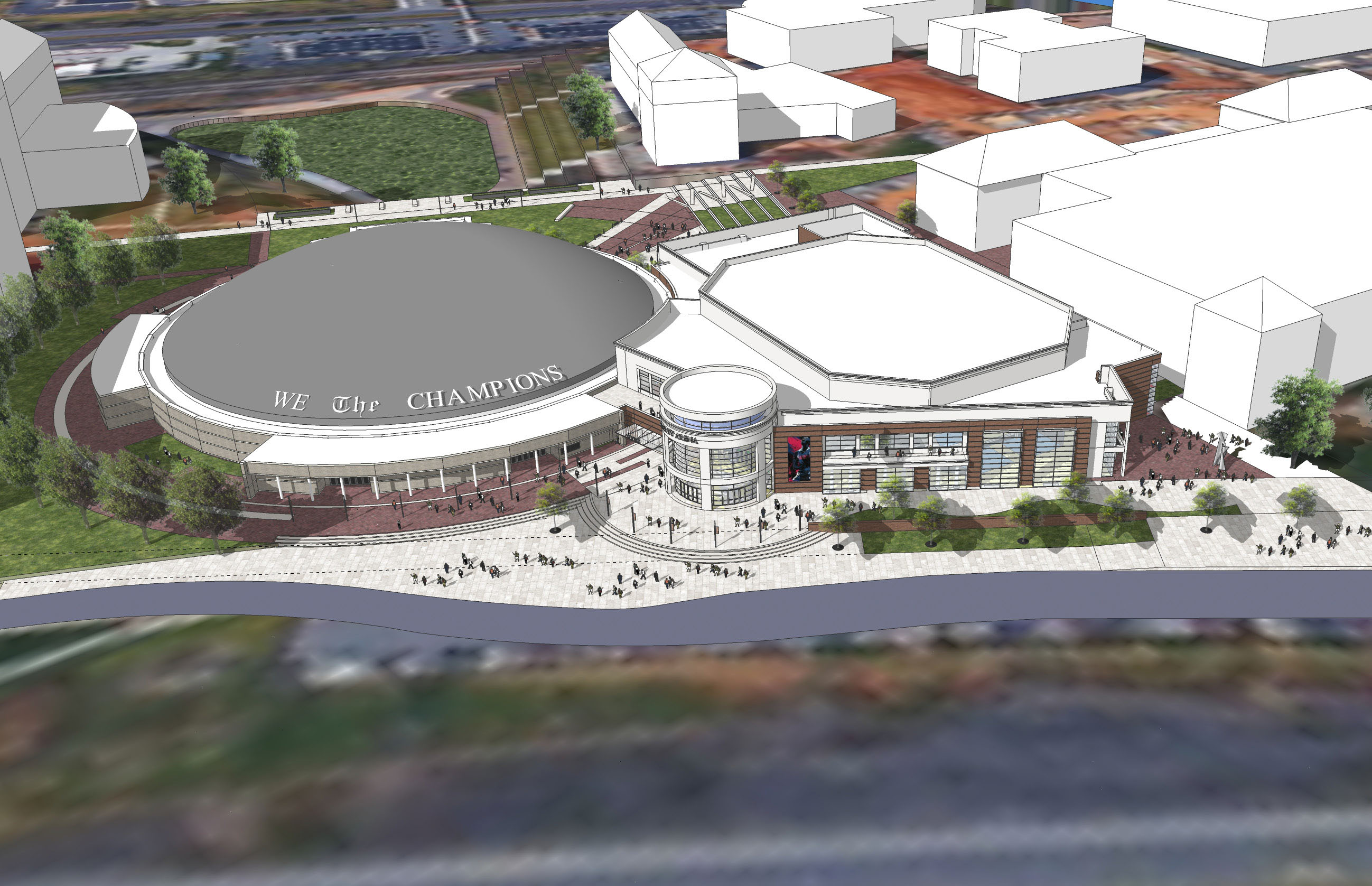 New multiuse arena to be built next to Vines Center | Liberty University
