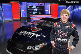 Liberty University sponsored NASCAR K&N Pro Series East champion William Byron