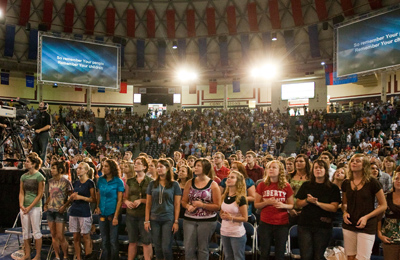 Undergraduates attend first convocation service