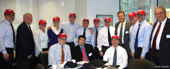 Jerry Falwell, Jr. and Morgan Stanley Staff
