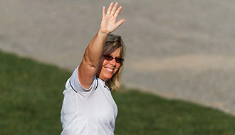 Dot Richardson, Liberty's softball head coach, will serve as Olympic Speaker.