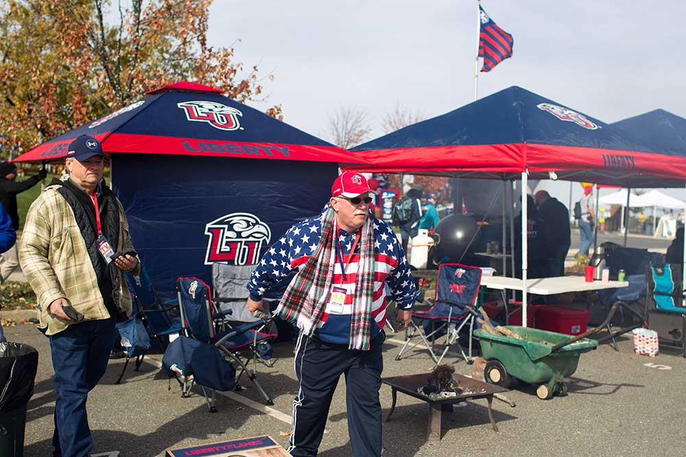 Football Parking and Tailgating