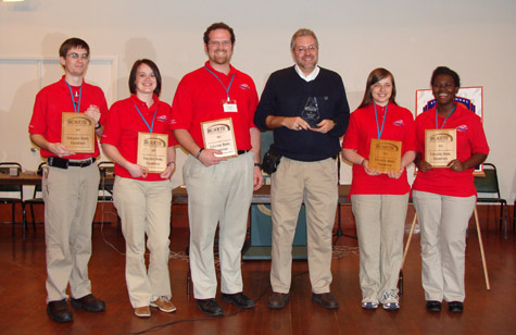 Liberty's 2011 Big South Quiz Bowl Champions
