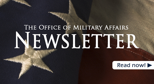 The Office of Military Affairs Newsletter. Read now
