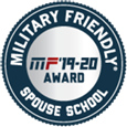 Military Friendly Spouse School MF'19-20 Award