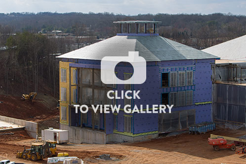 Click to launch Jerry Falwell Library Construction photo gallery